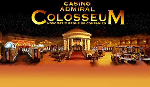 ป้ายทางเข้า Casino Admiral Colosseum