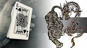 เสือมังกรออนไลน์-ไพ่และสัตว์